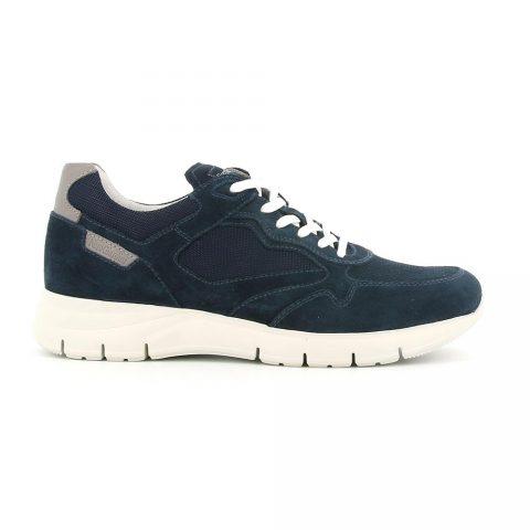 Sneaker Uomo Nero Giardini Colorado Blu