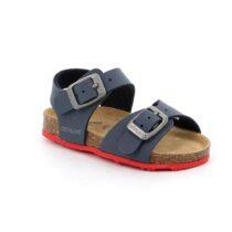 Sandalo Bambino Grunland Junior Afre Blu Rosso - SB041340
