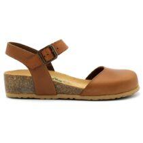 Sandalo Donna Bio Natura in Pelle Brandy - 12C2177