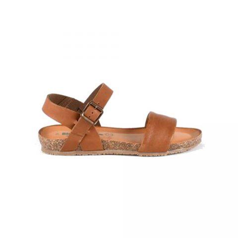 Sandalo Donna Bio Natura in Pelle Gaucho Brandy - 85A2166T