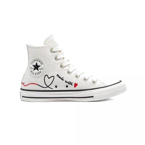 Sneaker Donna Chuck Taylor All Star Hi Vintage 'Valentine's Day' Converse - 171159C