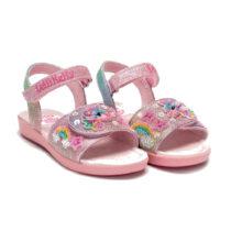 Sandalo Bambina Lelli Kelly Unicorno Multiglitter - LK7402