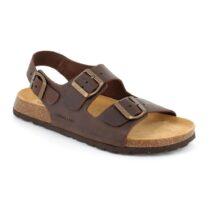 Sandalo Uomo Grunland Bobo in Pelle Mogano - SB039640