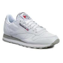 Sneaker Reebok Classic Leather Intense White Light Grey - 2214