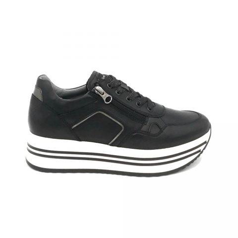 Sneaker Donna Nero Giardini Guanto Nero - I116930D100