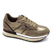 Sneaker Donna Nero Giardini Laminato Talpa - I116945D501