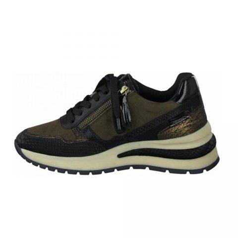 Sneaker Donna Tamaris Olive - 112370927761