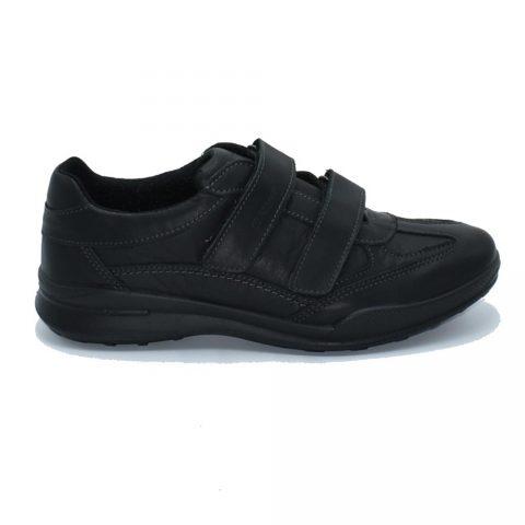 Sneaker Uomo Grisport in Pelle Nera - 40112NT