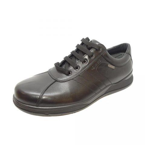 Sneaker Uomo Igi&Co Berny GTX in Pelle Nera - 8118000