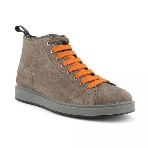 Sneaker Uomo Igi&Co Santiago in Camoscio Fango Scuro - 8124733