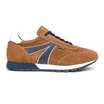 Sneaker Uomo Nero Giardini Velour Malto - I102172U339